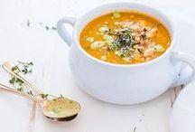 En cuisine ... Les soupes