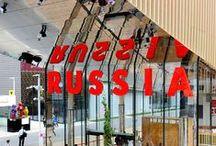 #Expo2015   Russia Pavilion