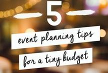 Becoming an Event Planner / Tricks and tips on starting your own event planning business #EventPlanning #Startup