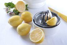 En cuisine ... Le citron