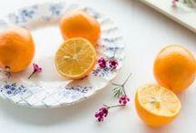 En cuisine ... Les oranges