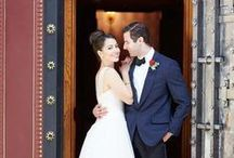 Classic Meets Color - Wedding Ideas / Read more at The Perfect Palette