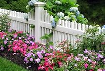 Au jardin ... les clôtures en bois