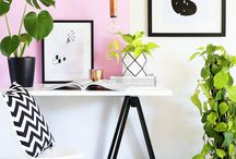 OFFICE INSPIRATION / A fabulous working space is the key to creativity. Here's are some great home office organization and decor tips.