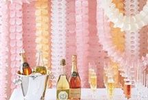 PARTY DECORATIONS / Throwing a birthday bash, ladies night, or themed party? Here are some amazing party decoration ideas and inspiration...