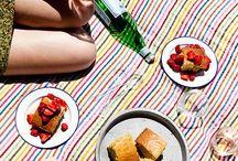SPRING PICNIC DREAMS / I'm dreaming of warm summer picnics...and bubbly!