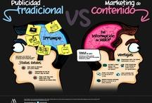 Infografías / Infografias sobre marketing digital: social media, blogging, WordPress, e-commerce, email-marketing, m-commerce.