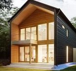 Contemporary log homes / Modern, healthy and ecological log houses by Honka, Finland. Available worldwide.
