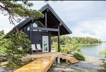 Log cabins and holiday homes / Scandinavian style log cabins and holiday homes by Honka, Finland. Available worldwide.