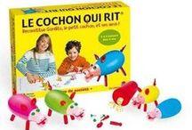 Cochon qui rit - Notre gamme actuelle / by Jeux Dujardin