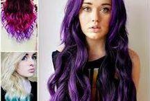 eduarda / cabelos coloridos
