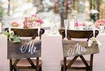 Wedding: Seating charts & decorations