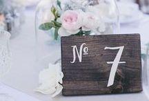 Wedding: Table decor