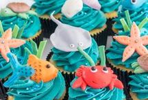 Cupcakes / Buttercream and fondant iced cupcakes