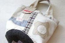 szycie torby / inspiracje szyciowe, pomysły na torebki