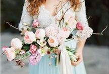 Wedding flowers / Pretty Wedding flower ideas