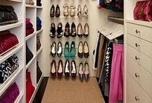 De-Clutter Closet / De-Clutter & Organize Closets & makeup table for Accessories, Clothes & Cosmetics / by Soundof Music