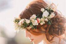 wedding flowers for hair