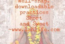 well-snap / short downloadable practices to create well-being in a snap