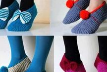 Pantufleando / Abrigarse las patitas, y que se vean bonitas, ¡ésa es la idea!