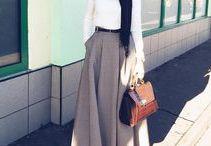 Black and White (Hijab)