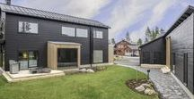 Honka Markki, Finland / The Markki house combines tradition and urban details. It is a contemporary and functional home with a sense of respect for the local tradition.
