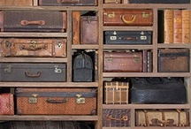 Vintage Luggage / A focus on the beautiful designs of vintage luggage and the means in which they are transported..