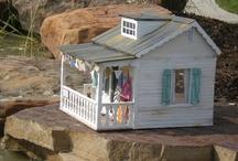 Dollhouses  °°°Puppenhäuser°°° / dollhouses, Puppenhäuser,  / by Elke Schaarmann