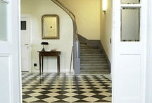 Black n' white floor