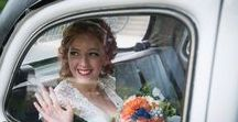 Blushing Brides and Uplifting Updos / Make-up and hair creation for our brides.