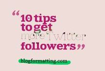 #Blogging and #Twitter / Maximize your #blog on #Twitter!  Learn tips to make your blog reach more people by tweeting. http://blogformatting.com