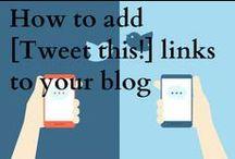 Social Media Tips and Marketing / Articles, #blog posts, and #videos about #socialmedia tips, marketing and web design.
