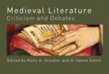 Medieval / New books added to the Faculty Library for Medieval Literature