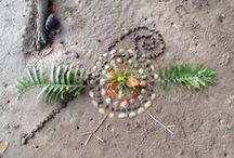 2010 Kahunui Environmental Art / Artwork created by the Year 10 girls while attending our remote campus Kahunui