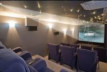 Home Cinema Rooms / A selection of images of luxury home cinema rooms within stunning villas, on the Costa Del Sol,  that are for sale on the Crystal Shore Properties website