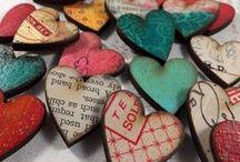Hearts / Hartjes in alle kleuren en maten