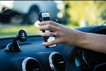 iMagnet Car Phone Mount / The iMagnet is the first cradle-less magnetic car phone mount. Perfectly safe for your phone, it can mount (and stick well!) to your windshield or dashboard. A great gift for any gadget lover, frequent phone user, or loved one.