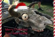 Have a Gearhead® Holiday! / DIY holiday decorations and inspired holiday hot rod art