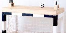 LORIS ♡ BEDROOM / Boy bedroom - Chambre garçon Foot Soccer & Harry Potter