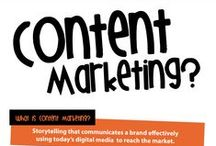 Content Marketing for Small Businesses / some pins on producing content for your marketing