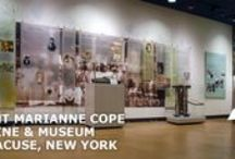 Saint Marianne Cope Shrine & Museum / The shrien and museum is located at 601 North Townsend Street on the corner of Townsend and Union Streets.