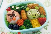 Cute Fun Bento Ideas / all kinds of cool stuff you can do for making your bentos fun!