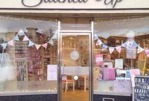Stitched Up Kenilworth / Our beautiful sewing shop!