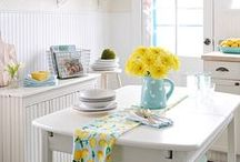 Spring Sensations / Soft pastels, flowers, bunnies and Easter eggs. Our favorite ways to decorate the home for the spring season.