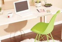 Home Office Ideas / Brilliant ideas for stylish and productive home offices.