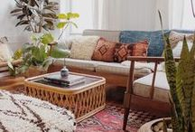 Living Room Ideas / The humble living room. A space where family and friends come to gather. A place where life happens. A room made for living.