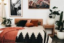 Bedroom Ideas / Sleeping in on the weekend is a treat with these dreamy bedrooms.