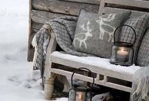 """Winter Wonderland / """"Sleigh bells ring, are you listening? In the lane, snow is glistening A beautiful sight, we're happy tonight Walking in a winter wonderland"""" ~ A collection of wintertime home decor ideas for a delightful holiday season."""