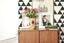 Bold Color & Pattern / Rooms and offices with bold color and pattern choices to inspire and invigorate.