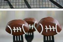 Football Season Food and More / Yummy football season food, decor, and more.